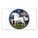 Starry / Arabian Horse (W1) Rectangle Sticker