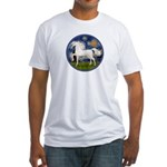 Starry / Arabian Horse (W1) Fitted T-Shirt