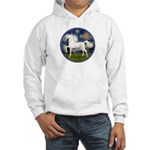 Starry / Arabian Horse (W1) Hooded Sweatshirt