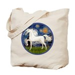 Starry / Arabian Horse (W1) Tote Bag