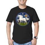 Starry / Arabian Horse (W1) Men's Fitted T-Shirt (