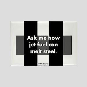 Jet Fuel Rectangle Magnet