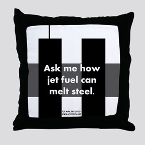 Jet Fuel Throw Pillow