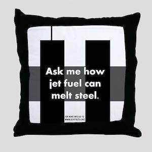 Jet Fuel Throw Pillow
