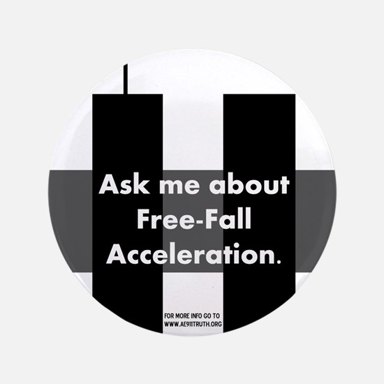 """Free-Fall Acceleration 3.5"""" Button"""