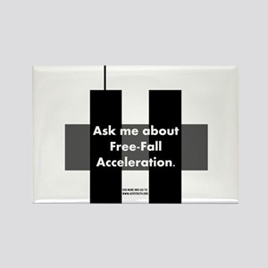 Free-Fall Acceleration Rectangle Magnet
