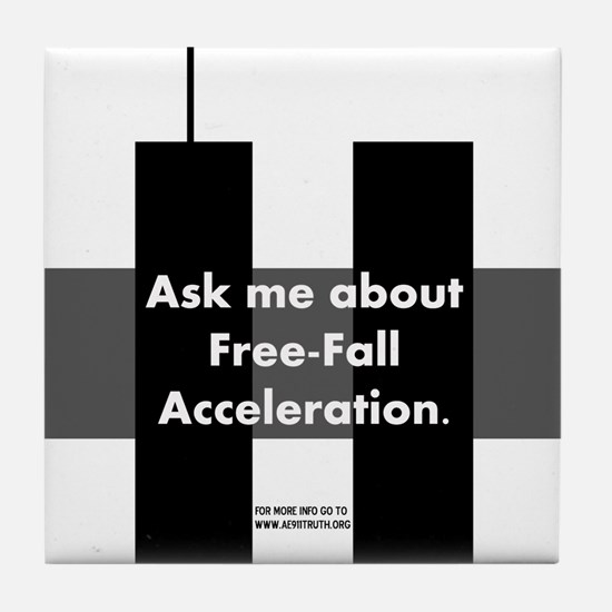 Free-Fall Acceleration Tile Coaster