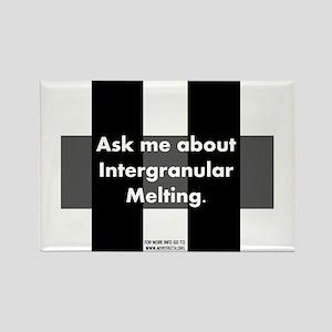 Intergranular Melting Rectangle Magnet
