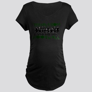 TEMPLETON EAGLE FOOTBALL (6) Maternity Dark T-Shir