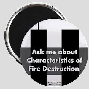 Fire Destruction Magnet