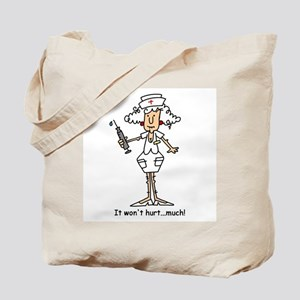 Funny Nurse Two Tote Bag