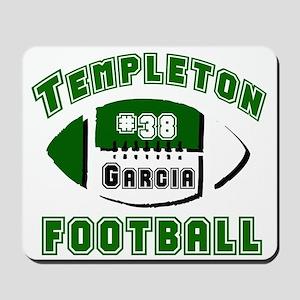 TEMPLETON FOOTBALL (5 custom) Mousepad