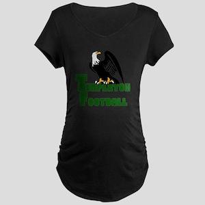 TEMPLETON FOOTBALL (6) Maternity Dark T-Shirt
