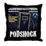 Podshock Throw Pillow