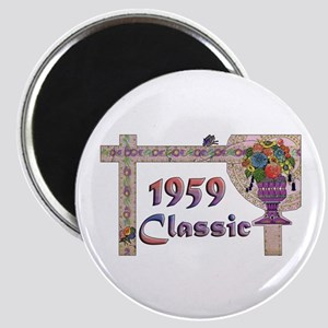 Butterfly 50th Birthday Magnet
