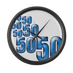 50 Large Wall Clock