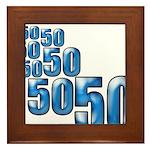 50 Framed Tile