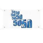 50 Banner