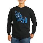 50 Long Sleeve Dark T-Shirt
