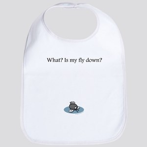 Is my fly down? Bib