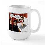 Newton's Grip Large Mug