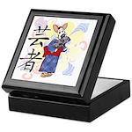 Geisha Corgi Keepsake Box