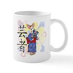Geisha Corgi Mug