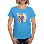 Geisha Corgi Women's Dark T-Shirt