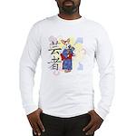 Geisha Corgi Long Sleeve T-Shirt