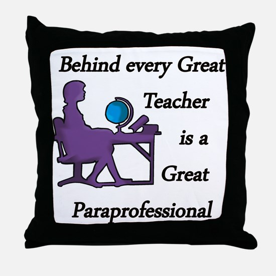 Cute Profession Throw Pillow