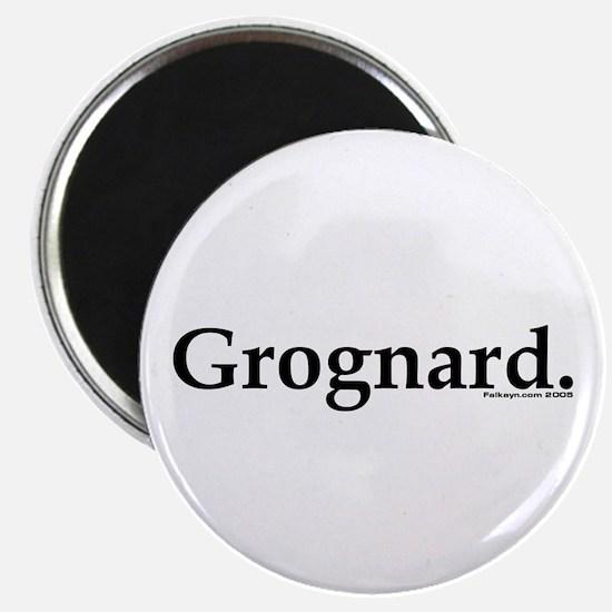 Grognard Magnet