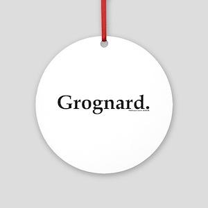 Grognard Ornament (Round)