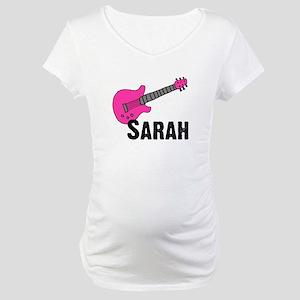 Guitar - Sarah Maternity T-Shirt