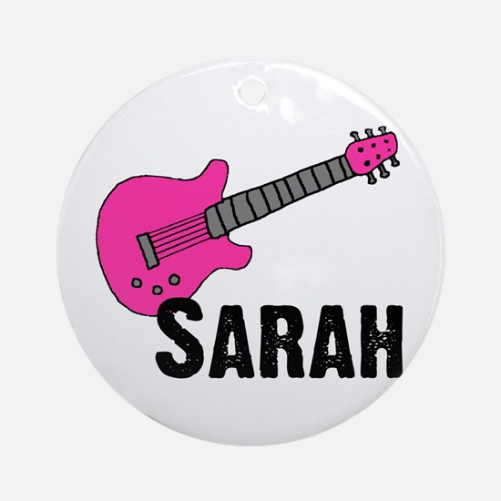 Guitar - Sarah Ornament (Round)