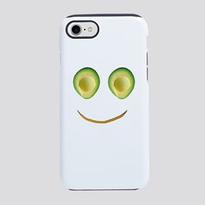 Cute Avocado Face Rhonda's iPhone 7 Tough Case