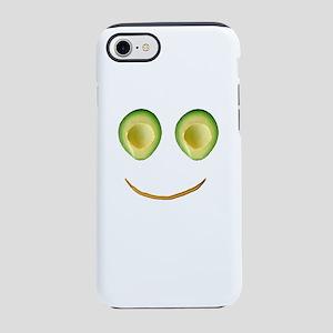 Cute Avocado Face Rhonda's iPhone 7 Tough Case