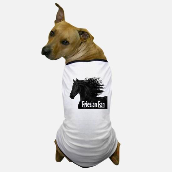 Friesian Fan Dog T-Shirt
