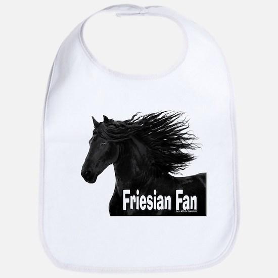 Friesian Fan Bib