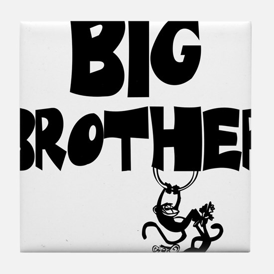 Big Brother (Monkies) Tile Coaster