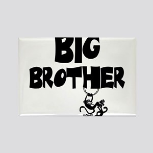 Big Brother (Monkies) Rectangle Magnet