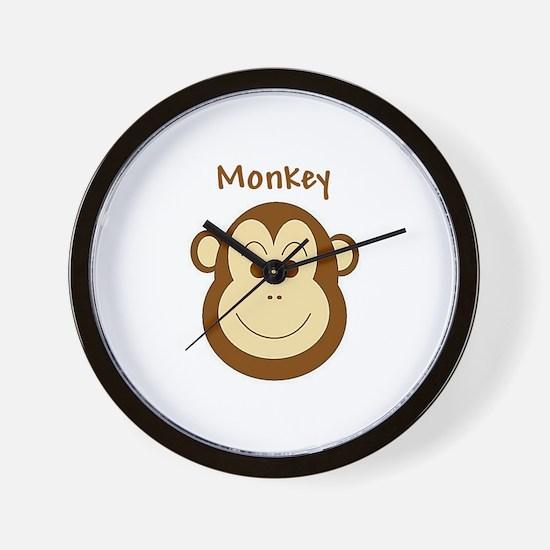 Monkey Wall Clock