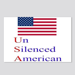 Un Silenced American Postcards (Package of 8)