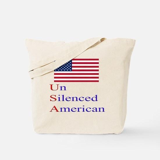 Un Silenced American Tote Bag