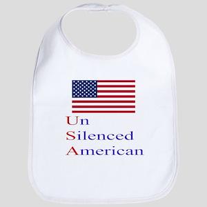 Un Silenced American Bib