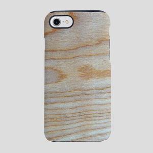 Chic Wood Grain Unique Winston iPhone 7 Tough Case