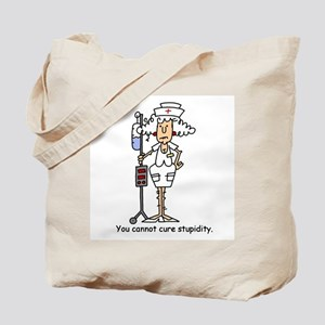 Funny Nurse Four Tote Bag