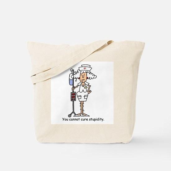 Funny Nurse Four Tote Bag