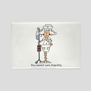 Funny Nurse Four Rectangle Magnet