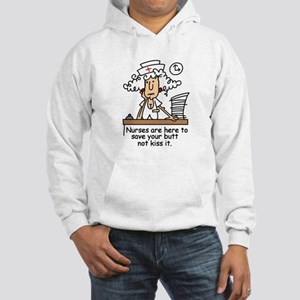 Funny Nurse Six Hooded Sweatshirt