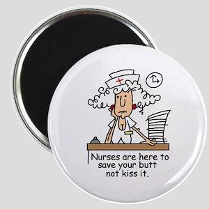 Funny Nurse Six Magnet